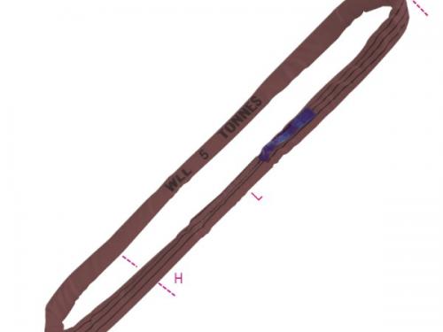 Dây cáp vải cẩu hàng bản tròn 6 tấn endless