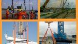Ứng dụng nâng hạ trong sản công nghiệp, xây dựng và trong sản xuất của dây cáp vải cẩu hàng bản dẹp