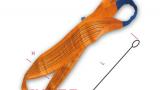 Dây cáp vải cẩu hàng bản dẹp 10 tấn 2 đầu mắt