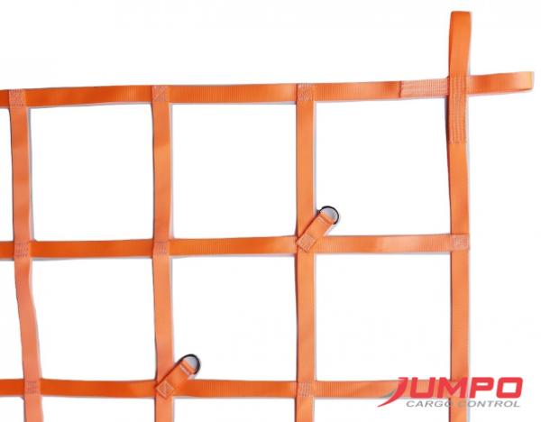 Lưới trùm hàng thùng xe bán tải 150X140cm ô 20cm