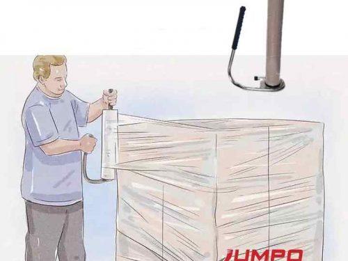 Dụng cụ quấn màng PE cho Pallet