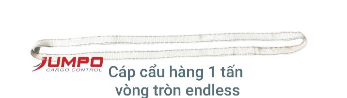 Dây cáp vải cẩu hàng 1 tấn vòng tròn