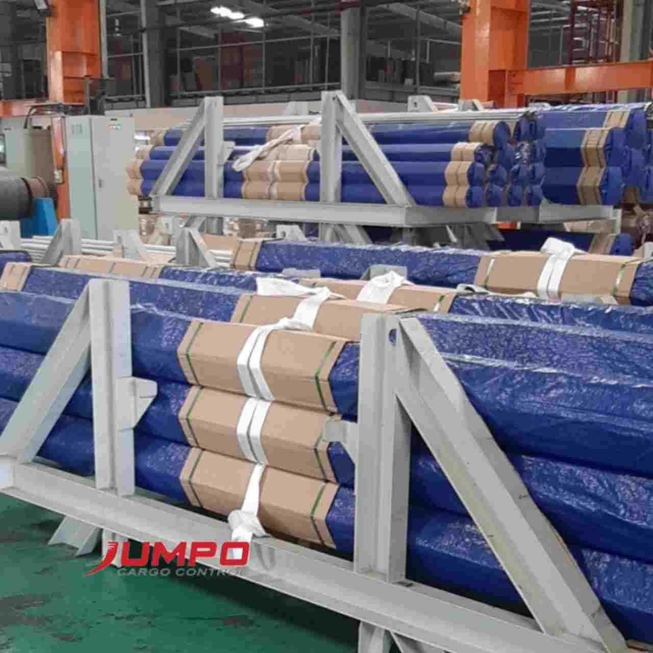 Ứng dụng dây cáp vải cẩu hàng 1 tấn vòng tròn cẩu ống thép sử dụng 1 lần theo hàng hóa